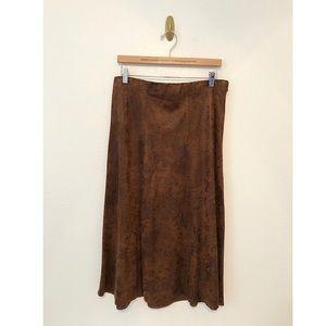 Christopher & Banks Midi Skirt